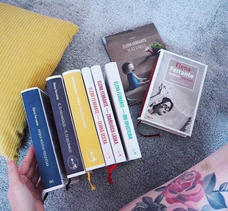 Ferante knihy