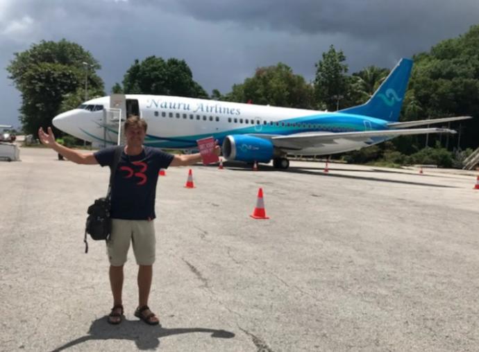 Na Nauru sa dá doletieť iba jedinou leteckou spoločnosťou Nauru Airlines