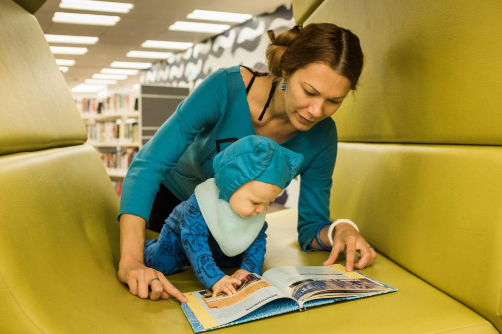 čítať treba začať hneď po narodení