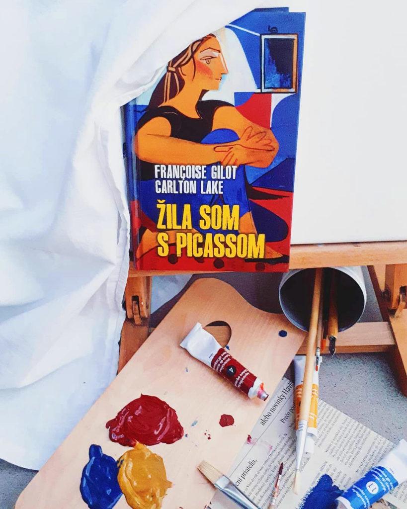 Žila som s Picassom kniha