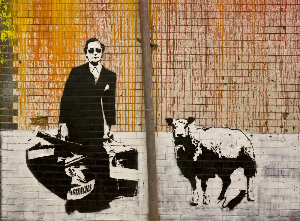 Toto je Blek Le Rat, ktorý inšpiroval Banksyho