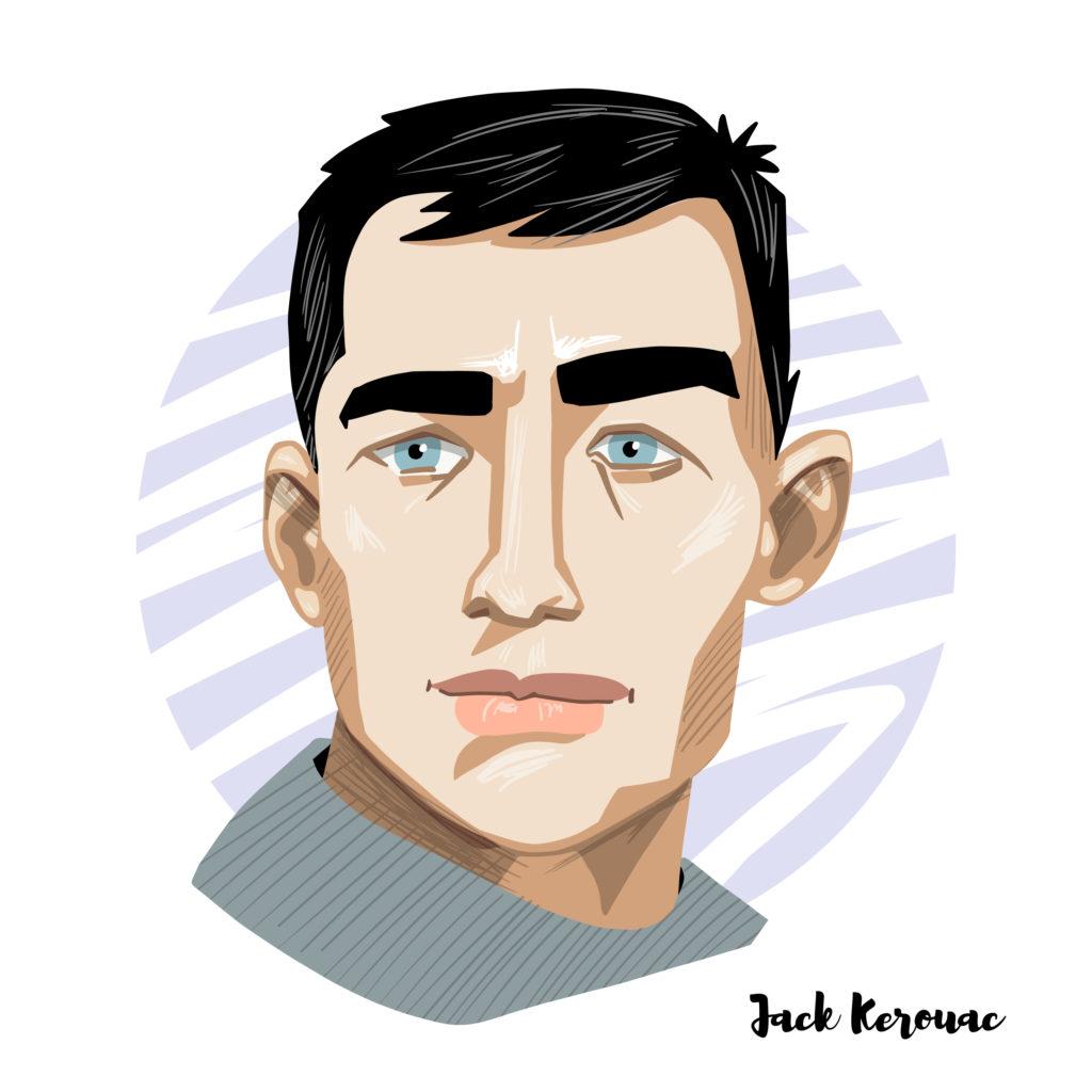 Jack Kerouac portrét
