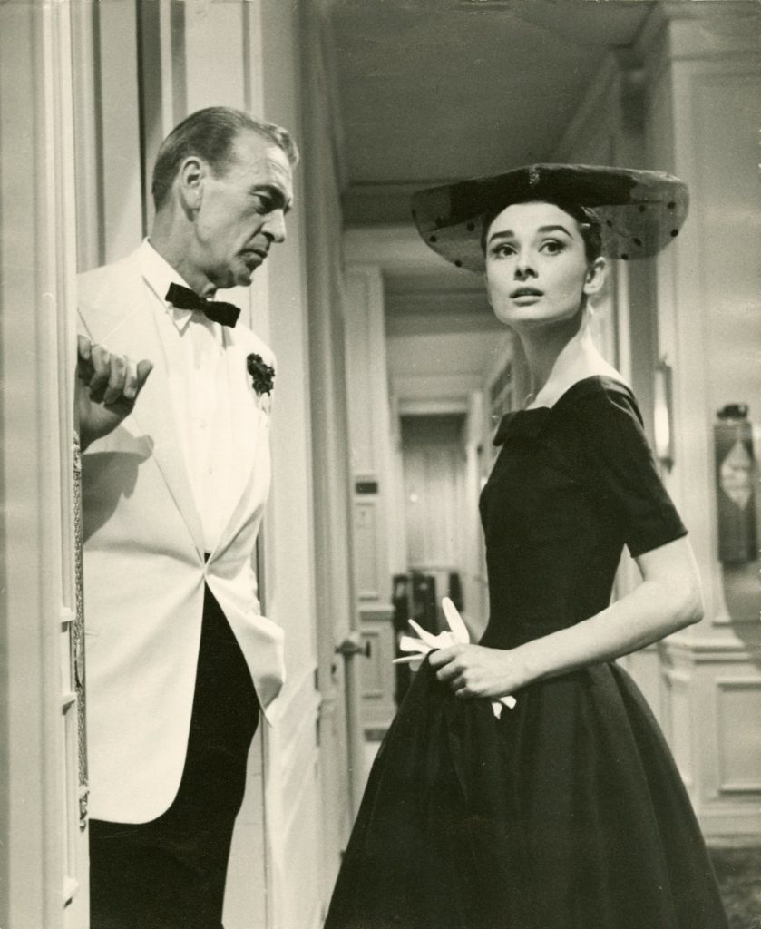 Audrey a Givenchy