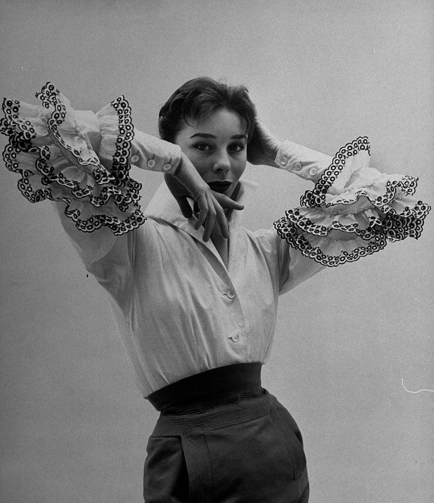 Francúzska manekýnka Bettina Graziani