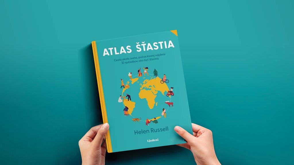 Obálky knihy Atlas šťastia